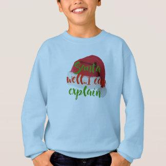santa , i can explain funny christmas t-shirt