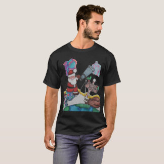 Santa in Space T-Shirt