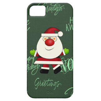 Santa iPhone 5 barely there iPhone 5 Cover
