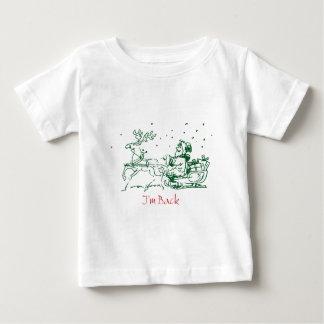 Santa is back again, Merry Christmas Baby T-Shirt
