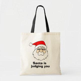 Santa is judging you