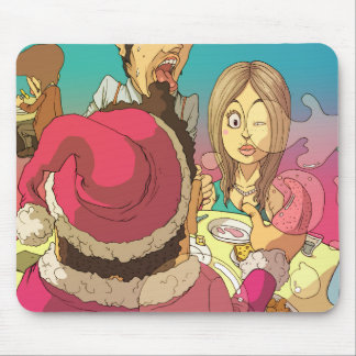Santa is male too mouse pad