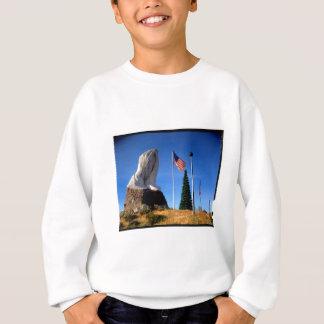 Santa, Jesus, America Sweatshirt