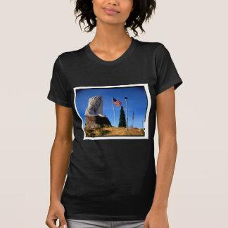 Santa, Jesus, America T-Shirt