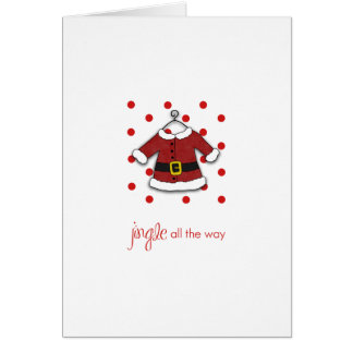 Santa Jingle Note Card