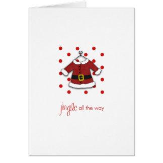 Santa Jingle Note Card