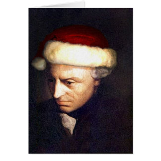 Santa-Kant card with Quote