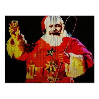 Santa Karl Postcard