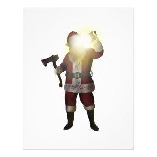 Santa Killer Letterhead