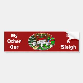 Santa Kilroy Bumper Sticker