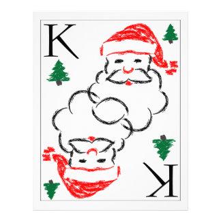 Santa - King of Trees Personalized Letterhead