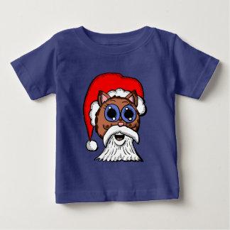 Santa Kitty Baby T-Shirt