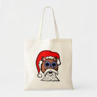 Santa Kitty Tote Bag