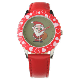 Santa Klaus Wrist Watches