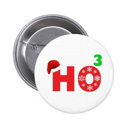 santa laughs at christmas pins