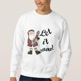 Santa Let it Snow T-shirts and Gifts