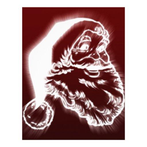 santa letterhead design