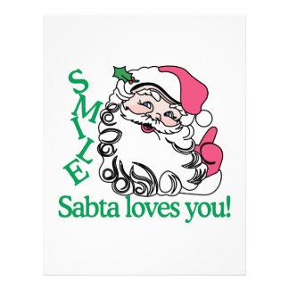 Santa Loves You! Letterhead Template
