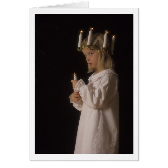 Santa Lucia Sweetie Card