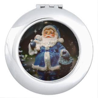 Santa Makeup Mirrors