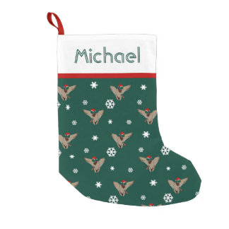Santa Mallard Duck Christmas Small Christmas Stocking