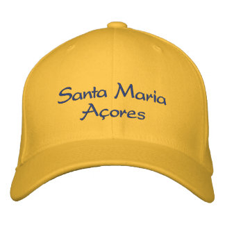 Santa Maria - Azores Embroidered Hat
