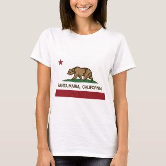 santa maria california state flag T-Shirt