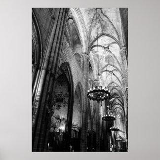 Santa Maria del Mar, Barcelona Poster