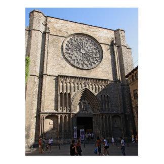 Santa Maria del Pi Postcard