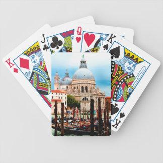 Santa Maria della Salute Bicycle Playing Cards