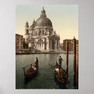 Santa Maria della Salute I, Venice, Italy Poster