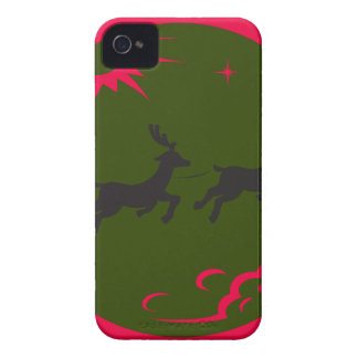 santa merry christmas Case-Mate iPhone 4 case