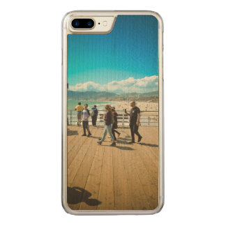 Santa Monica Beach Carved iPhone 7 Plus Case