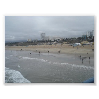 Santa Monica Beach Photo Print