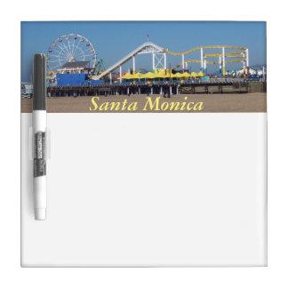Santa Monica Beach Roller Coaster Dry-Erase Boards