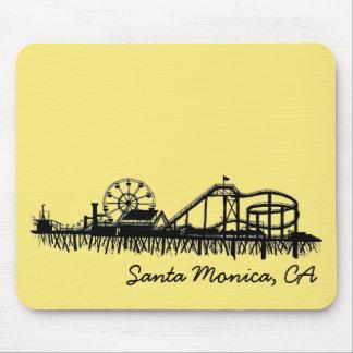 Santa Monica CA California Pier Beach Ferris Wheel Mouse Pad