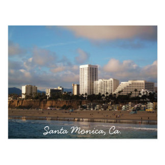 Santa Monica, Ca. Postcard