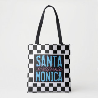 Santa Monica California BCF Tote Bag