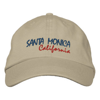 SANTA MONICA, California Embroidered Hat