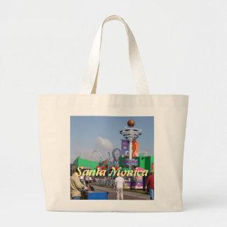 Santa Monica, California Large Tote Bag