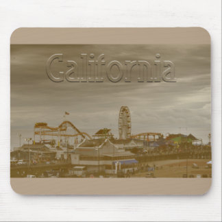 Santa Monica California Mouse Pad