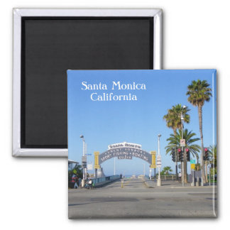 Santa Monica Magnet! Square Magnet