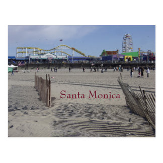 Santa Monica Pier California Postcard