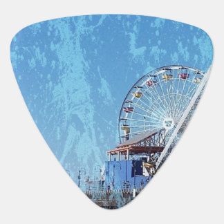 Santa Monica Pier Guitar Pick