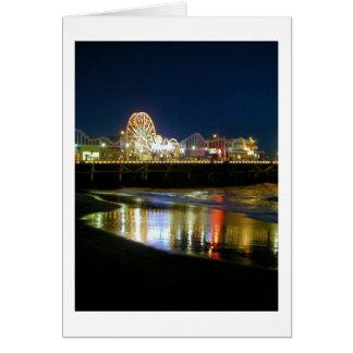Santa Monica Pier, Los Angeles Card