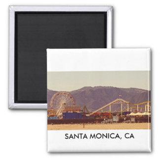 Santa Monica Pier - Magnet