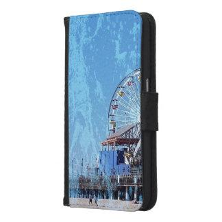 Santa Monica Pier Samsung Galaxy S6 Wallet Case