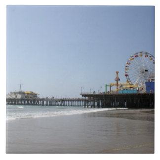 Santa Monica Pier Tile