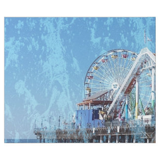 Santa Monica Pier Wrapping Paper