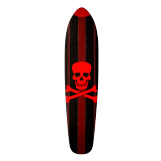Santa Monica Pirate Cruiser Custom Pro Long Board Skate Board